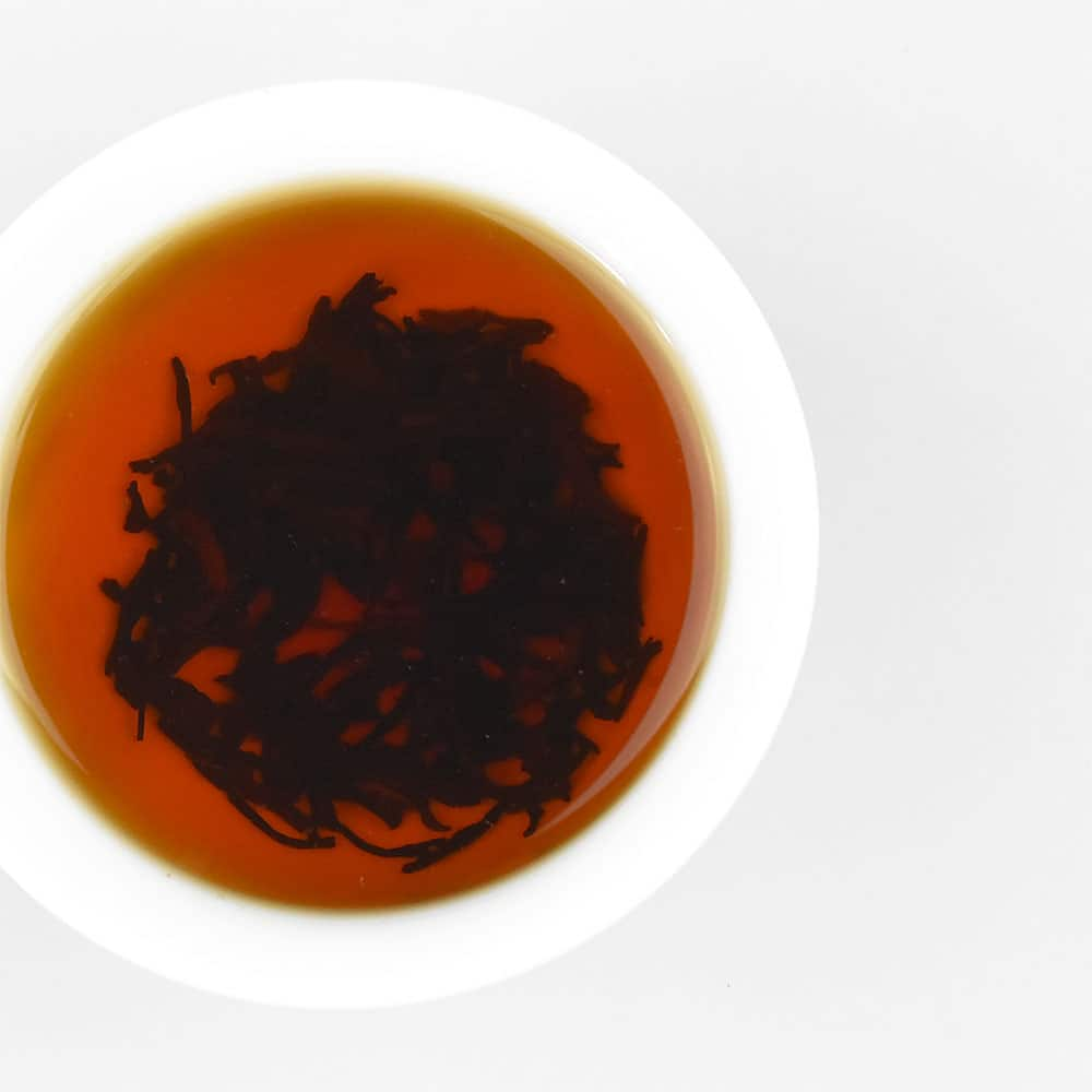 2015 Emperor's Royal Pu'erh Ripe Loose Leaf Tea Brewed