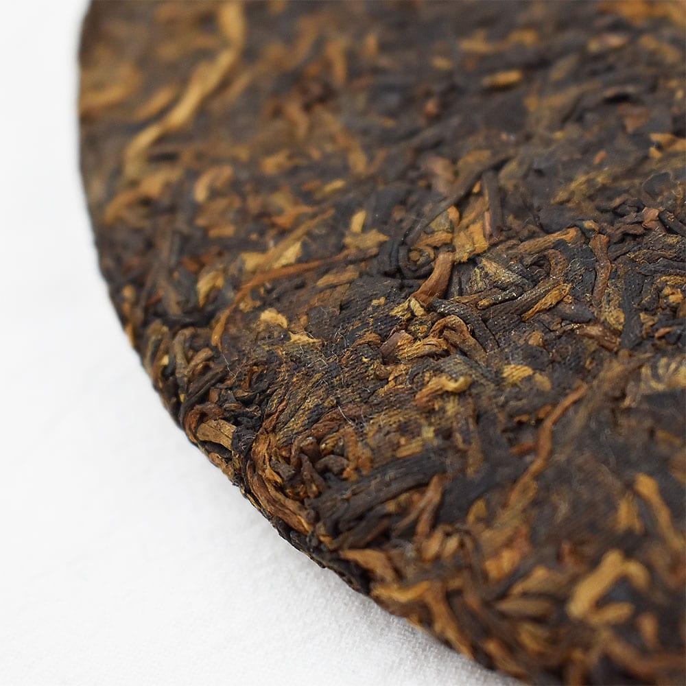 2016年易武普洱熟茶 357克 (茶餅)