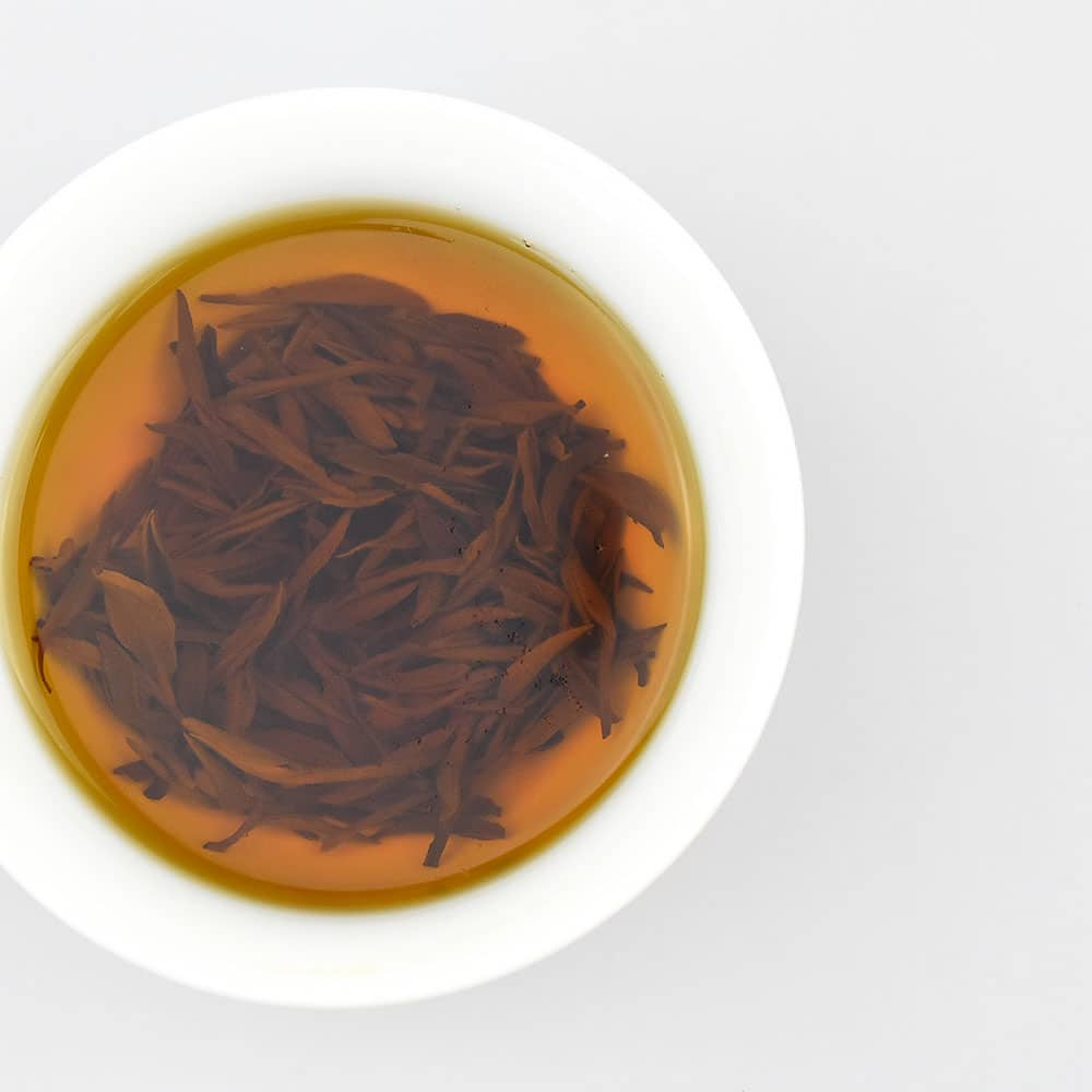 Premium Keemun Black Tea (Qimen) Brewed