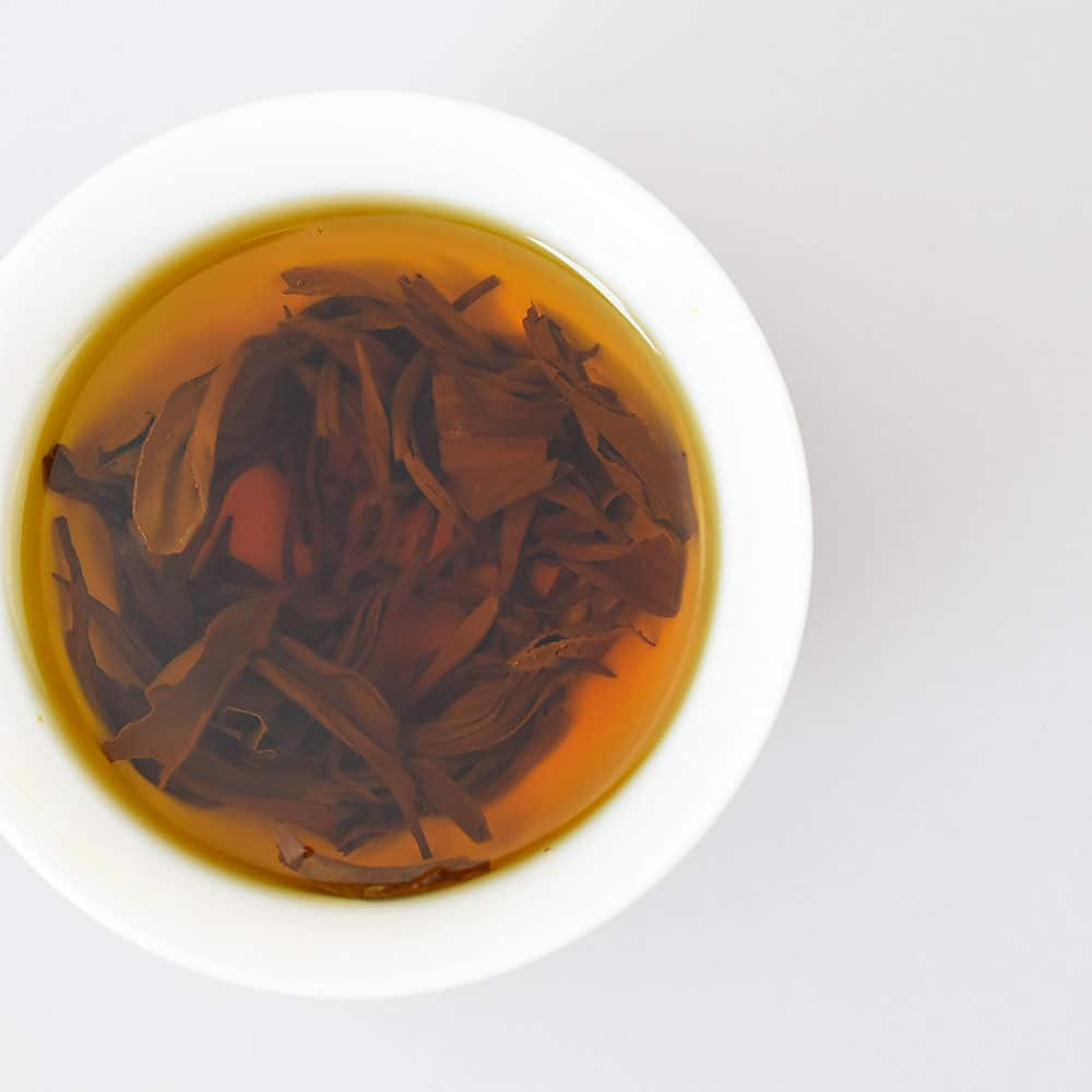Yunnan Black Tea (Dianhong) Brewed