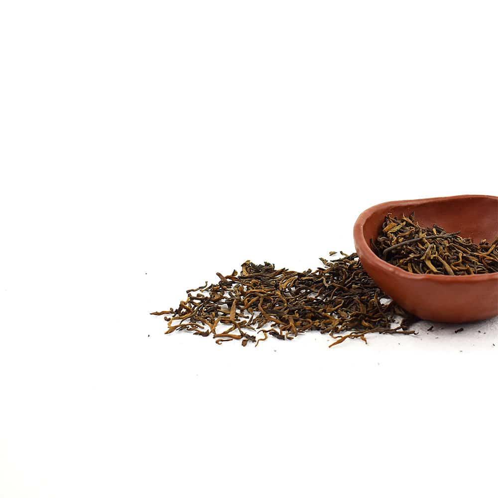 2016年古树金芽普洱熟茶 (散茶)