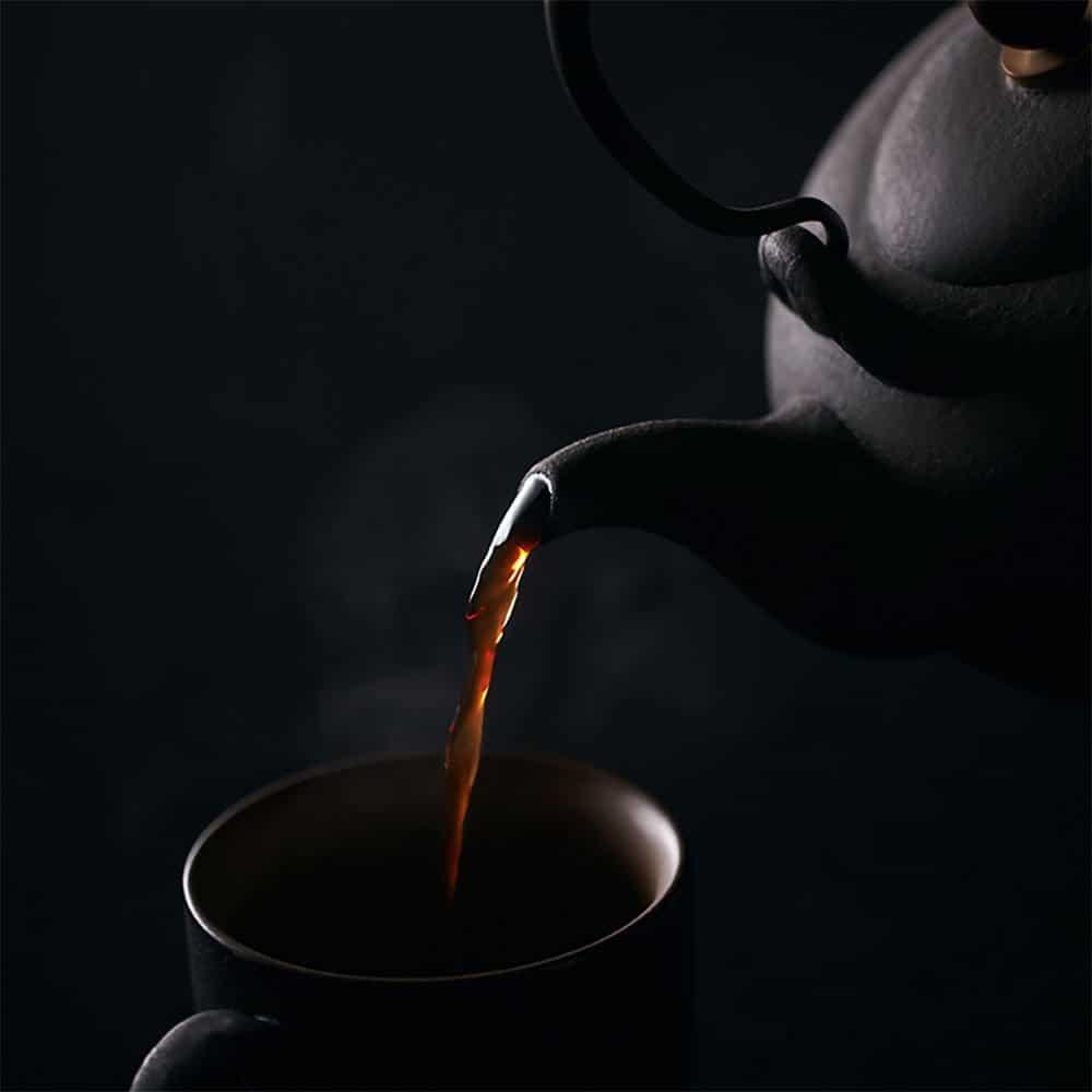 2016年雨林伏羲普洱熟茶 357克 (茶饼)