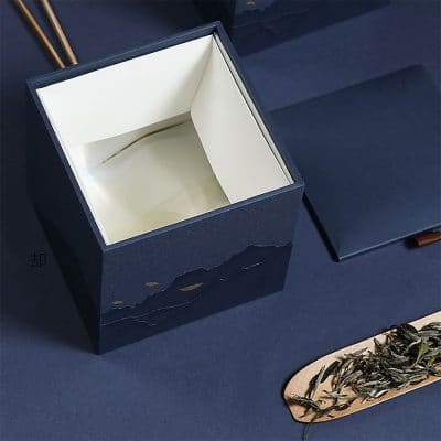 Tea Cube Gift Box (Blue)