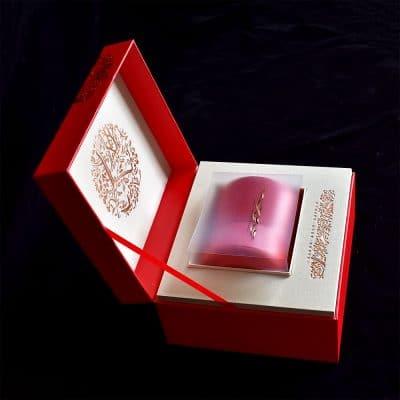 Single Tin Gift Box Red