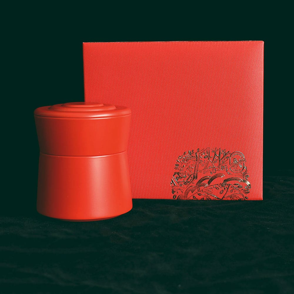 Single Tin Gift Box Red