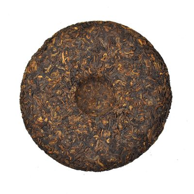 2016 YULIN Ning Xiang Ancient Tea Tree Pu-erh Ripe Tea Cake 357g