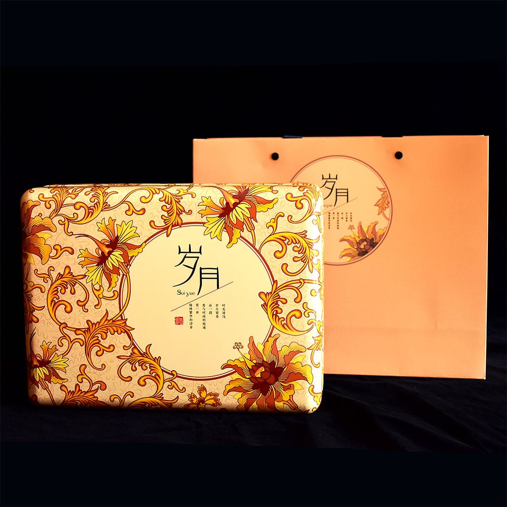 Sui Yue Gold 6-Cup Tea Gift Box